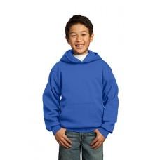 Port & Company® - Youth Core Fleece Pullover Hooded Sweatshirt.  PC90YH